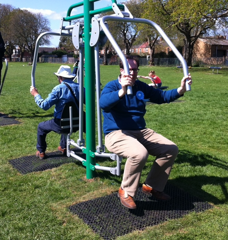 Desborough Gym Equipment Local Conservative Councillors Town Council Helpful Leisure Investment