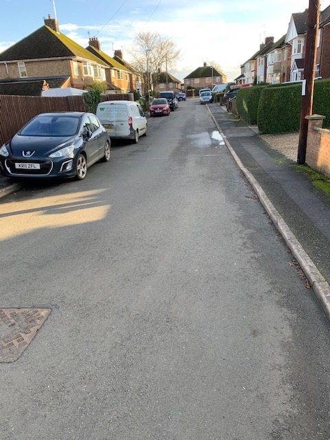 Mayfield Road Desborough Local Conservative Councillors Town Council Helpful Potholes Resurfaced